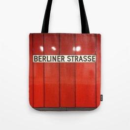Berlin U-Bahn Memories - Berliner Strasse U7 Tote Bag