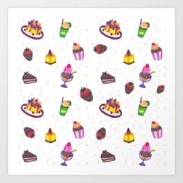 sugar power Art Print