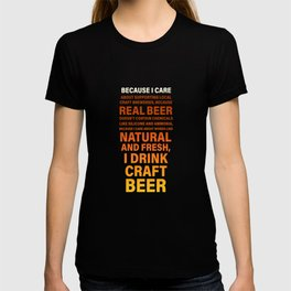 Craft Beer Beer Lover Ipa Beer Microbrewing T-shirt