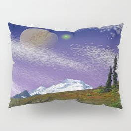 ON THE TRAIL TO DISTANT WORLDS Pillow Sham
