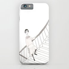 girl on a stair Slim Case iPhone 6s