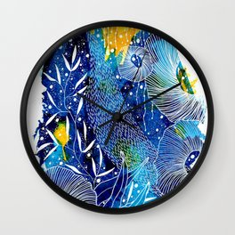 Rise And Fall Wall Clock