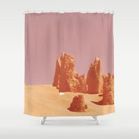desert Shower Curtains featuring Desert by CaptClare