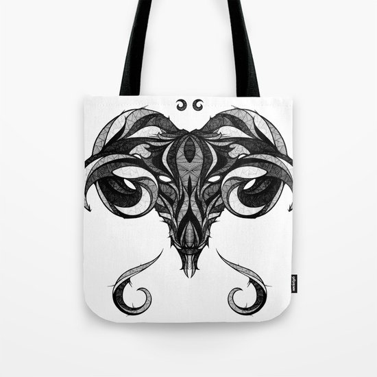 Signs of the Zodiac - Aries Tote Bag