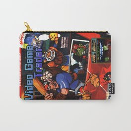 Video Game Trader #28 Cover Design Carry-All Pouch
