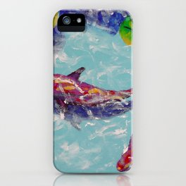Coy Pond iPhone Case