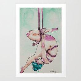 13/16   BDSM Watercolor Series Art Print