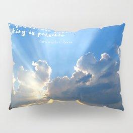 Divine Light Bursting Through Clouds Hope Pillow Sham