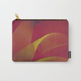 """Gold power"" minimal modern art Carry-All Pouch"