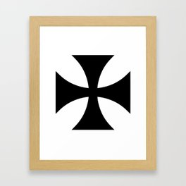 German Cross 2 Framed Art Print