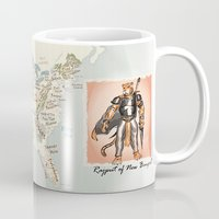 nfl Mugs featuring Rajput of New Bengal by GrimmLyon