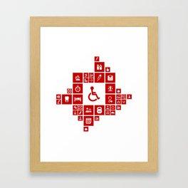 Medicine the designer Framed Art Print