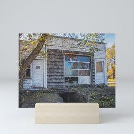 Old Grocery Store, Huff, North Dakota 2 Mini Art Print