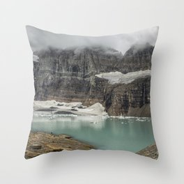 Grinnell and Salamander Glaciers, Soon Things of the Past Throw Pillow