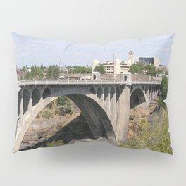 Monroe Street Bridge in Spokane Washington Pillow Sham