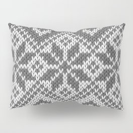 Winter knitted pattern 8 Pillow Sham