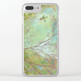 Forest Treasures Part B Clear iPhone Case
