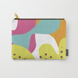 Colorful Blobs Abstract Art Print Carry-All Pouch