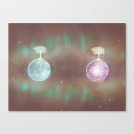 Parallel Universes II Canvas Print