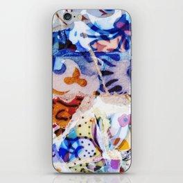 Mosaic of Barcelona VIII iPhone Skin