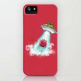 UFO. Italian Spaghetti Dreams iPhone Case