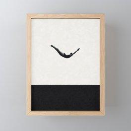 Just dive ... Framed Mini Art Print