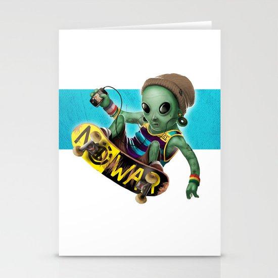Area 51 Skate Park Stationery Cards