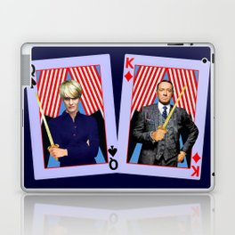 Frank and Claire - An Odd Pair Laptop & iPad Skin