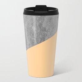 Geometry 101 Orange Sherbet Travel Mug