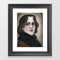 The Importance of Being Oscar Wilde Framed Art Print