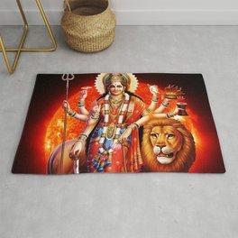 Hindu Durga 8 Rug