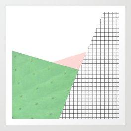 its simple IV | cactus edition Art Print