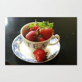 Teacup 2 Canvas Print