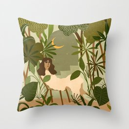 Jungle Dreams Throw Pillow
