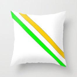 flag of ireland 6 -ireland,eire,airlann,irish,gaelic,eriu,celtic,dublin,belfast,joyce,beckett Throw Pillow