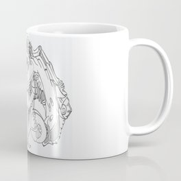 Forked Face Coffee Mug