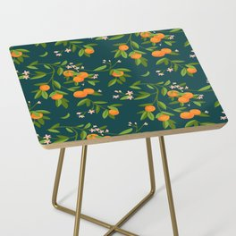 Citrus Tree - Navy Side Table
