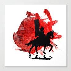 Japan Samurai Canvas Print