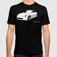 350Z MEDIUM Black Mens Fitted Tee