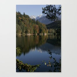 Hechtsee in the Brandenberger Alps 2, Tirol, color photo Canvas Print