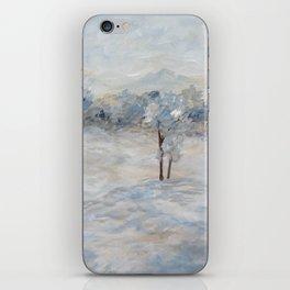 Blue Winter Day iPhone Skin