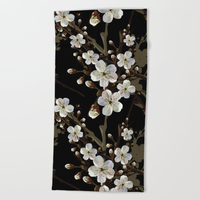 Cherry blossom #15 Beach Towel