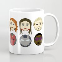 avenger Mugs featuring Avenger Emojis :) by Jozi
