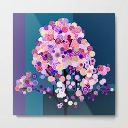 Surreal Tree 3 Metal Print
