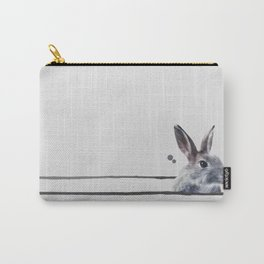 HORIZONTAL RABBITHOLE Carry-All Pouch