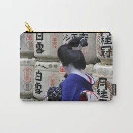 Geisha Maiko Photo Carry-All Pouch