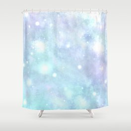 A cradle of stars Shower Curtain