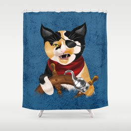 Purrrate Shower Curtain