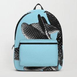 Black Light Blue Cactus #1 #plant #decor #art #society6 Backpack