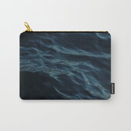 Deep blue waves Carry-All Pouch